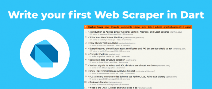 Write your first Web Scraper – Creative Bracket